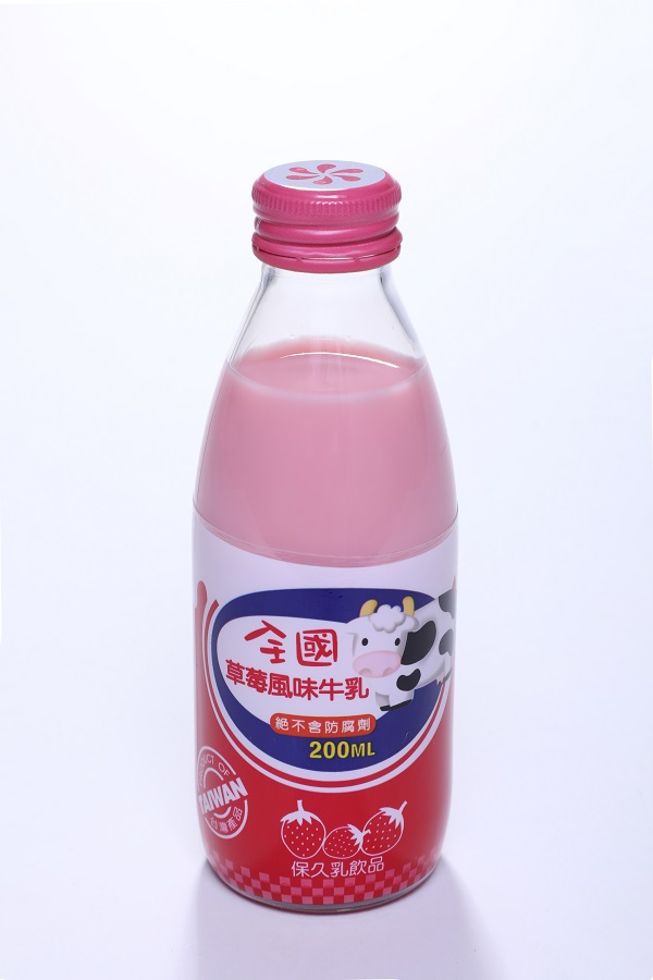 全國保久乳飲品 (玻) 2